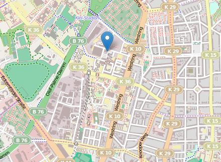 Karte OSM Kiel Wissenschaftszentrum
