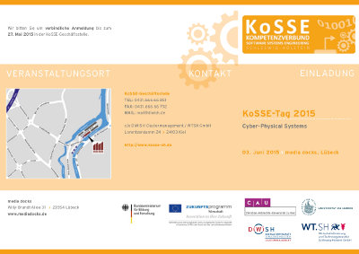 Flyer KoSSE-Tag 2015 thumb